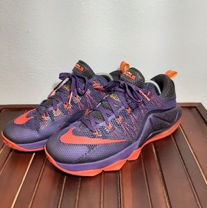 NIKE LEBRON 12 XII LOW COURT PURPLE